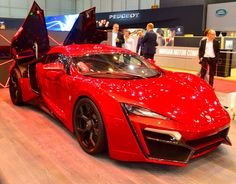 The $3.4 million Lykan Hypersport debuted in 2013. This is the 2016 model at the Geneva Auto Show