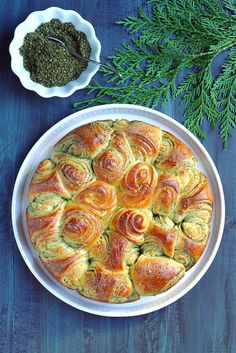 Two of a Kind | Za'atar Pull-Apart Bread | http://www.twoofakindcooks.com