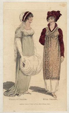 Regency Open Robe, Pelisse, presages Paul Poiret 100 years later