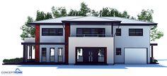 house design modern-house-plan-ch204 1