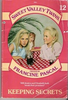 I read all the Sweet Valley Twins and High books. My mom kept them so now I can pass them on to Avery.