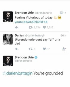 Brendon Urie twitter