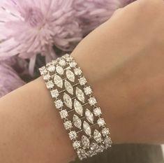 Diamond Bracelets, Gemstone Bracelets, Bangle Bracelets, Ruby Jewelry, Diamond Jewelry, Jewelery, Bracelet Designs, Jewelry Design, Bling