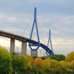 Hamburger Köhlbrandbrücke #hamburgermeile