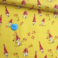 my o my   Woodland – Toadstool Cottage Yellow