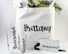 Home Remodel Split Level Personalized Canvas Tote and Tag Custom Gift Bag Bridesmaid Gift Bags, Wedding Gift Bags, Bridesmaid Tips, Bridesmaid Proposal, Bridesmaids, Interior House Colors, Beautiful Houses Interior, Interior Livingroom, Interior Modern