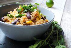 mexikanisches one pot quinoa // nurmalkosten.com