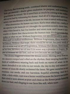 Forgiveness.... Quoted from Shantaram