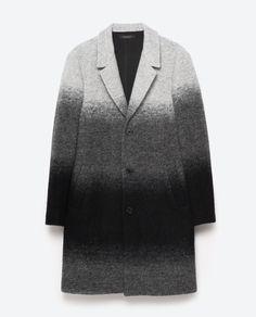 Image 8 of OMBRÉ COAT from Zara