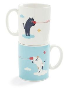 Paw Me a Cup Tea Set by Japanese designer Shinzi Katoh #cats