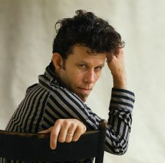 Tom Waits, curly pompadour - for my beau.