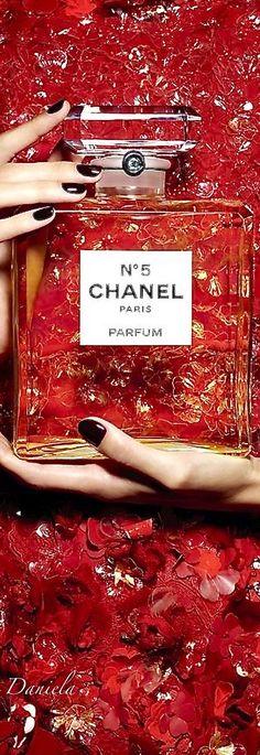 #Chanel #ChanelNo5 #red