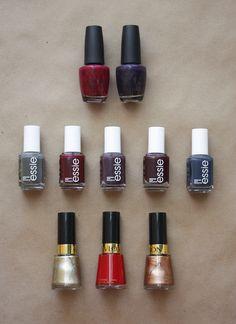 a few fall nail polish favorites / color me caitie