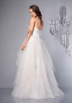 Suknia Ślubna Sweet One Shoulder Wedding Dress, Wedding Dresses, Fashion, Bridal Dresses, Moda, Bridal Gowns, Wedding Gowns, Weding Dresses, Wedding Dress