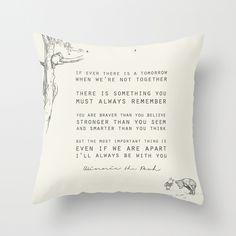 Winnie the Pooh Throw Pillow, pretty please