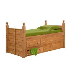 Twin Captain's Bed With 6 Drawers