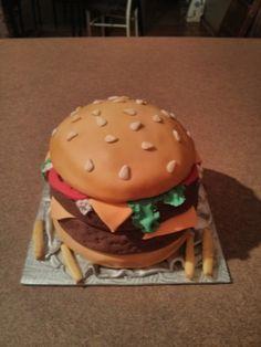 fans de hamburgeur Hamburger, Ethnic Recipes, Food, Meal, Hamburgers, Essen, Hoods, Burgers, Meals