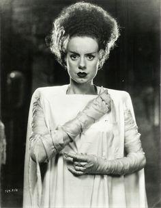 Elsa Lanchester inBride of Frankenstein, 1935