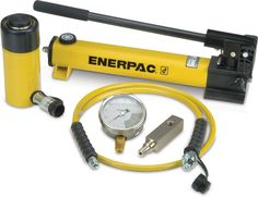 Enerpac Single Acting Cylinder Pump Set Cylinder with Hand Pump Equipment Trailers For Sale, Plumbing Pumps, Hydraulic Cylinder, Relief Valve, Pump Types, Hex Key, Outdoor Power Equipment, All In One, Acting