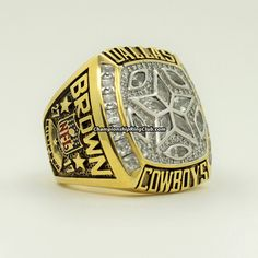 1995 Dallas Cowboys Super Bowl XXX Championship Ring. Best gift from www.championshipringclub.com for Cowboys fans. Custom your own personalized championship ring now!