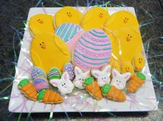 Royal icing makes for perfect Easter cookies