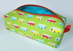 Pencil case Retro VW van, Going to school will be fun with this :)