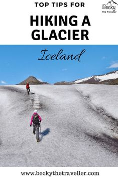 Is hiking a glacier in Iceland on your bucket list? This handy guide answers all those questions that you might have. What to wear for hiking a glacier? What safety equipment is included? What time of year can you hike on the glacier? Outdoor activities in Iceland | Outdoor adventures in Iceland | Glacier hike | Walking on the glacier | Iceland activities | Question & Answer guide | #iceland #glacier #hiking