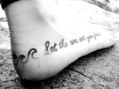 surf tattoo - saltwater ink