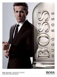 Ryan Reynolds?- Hugo Boss
