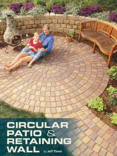 Circular Patio U0026 Retaining Wall