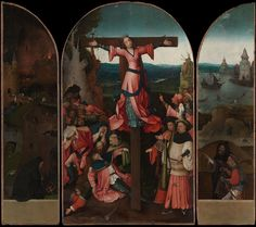 BoschTheCrucifixionOfStJulia - Hieronymus Bosch - Wikipedia, the free encyclopedia