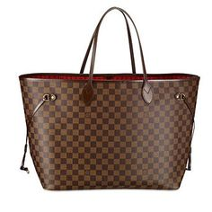 ac9441cd17eb Neverfull GM damier...I love mine because I can throw literally anything  &