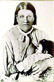 Cynthia Ann Parker - captured at age 9 by the Comanches, she lived with them for 24 years, completely forgetting her European ways. She married a Comanche chief with whom she had 3 children, including the last free Comanche chief Quanah Parker. Rescued at age 34 by Texas Rangers, she spent the remaining 10 years of her life refusing to adjust to white society and attempting many times to escape and return to her Comanche family. Heartbroken, she stopped eating and died of influenza in 1870.