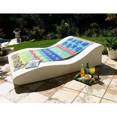Awesome La-Fete Duo Low Pro Sun Lounge - perfect for a Father's Day gift!