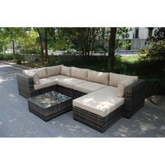 London 7 Pc. Sectional
