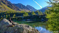 Lago di Soprasasso, lungo la traversata dalla Val di Sole alla Val di Rabbi. Una escursione semplicemente magnifca, senza difficoltà particolari a parte la lunghezza ● http://girovagandoinmontagna.com/gim/ortles-cevedale-le-maddalene-vegaia-tremenesca/(tremenesca)-traversata-in-paradiso-dalla-val-di-sole-alla-val-di-rabbi/