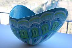 Vientre 3d de embarazada. Medusa, Decorative Bowls, 3d, Home Decor, Pregnancy, Blue Prints, Jellyfish, Decoration Home, Room Decor