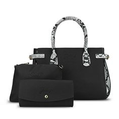 Ladies croc details 3-in-1 handbag Crocs, Pu Leather, Handbags, Chain, Detail, Lady, Royalty, Store, Products