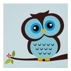 Cute Owl Drawings | Cute Owl Cartoon Drawings