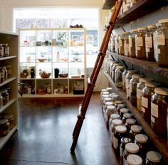 The Herb Shoppe in Portland Oregon where my neice Amanda is now associated