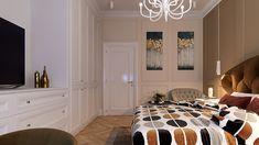 Dormitor Unirii - Campion Design Decor, Bed, Furniture, Home Decor, Mirror