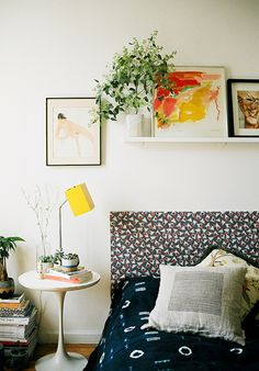 This @lonnymag staffer's bedroom is paradise for lovers of prints and #vintage style | by d a b i t o, via Flickr