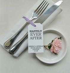 Wedding Rehearsal Dinner-Rehearsal Dinner Table-Eco by IzzyandLoll