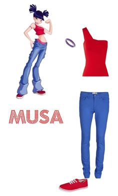 A fashion look from June 2013 featuring off one shoulder tops, Object Collectors Item and laced up shoes. Browse and shop related looks. Off One Shoulder Tops, Cartoon Outfits, Winx Club, Character Outfits, Club Outfits, Lace Up Shoes, Club Clothes, Fashion Looks, Cosplay