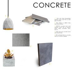 Whether you use a little or a lot, concrete can add a distinct, high end style to your kitchen.