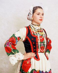 Costumes from Banovina/Banija a geographical region in central Croatia.