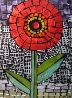 Love the checkered background tile Mosaic Tile Art, Mosaic Diy, Mosaic Garden, Mosaic Crafts, Mosaic Glass, Mosaic Designs, Mosaic Patterns, Mirror Painting, Silk Painting
