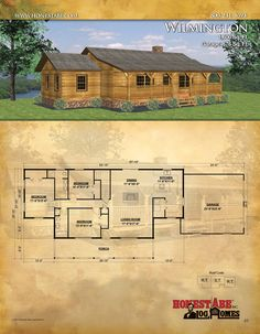 Browse Floor Plans for Our Custom Log Cabin Homes Log Cabin Floor Plans, A Frame House Plans, Log Home Plans, Cabin House Plans, Ranch House Plans, House Floor Plans, Cabin Kit Homes, Log Homes, Cabin Kits
