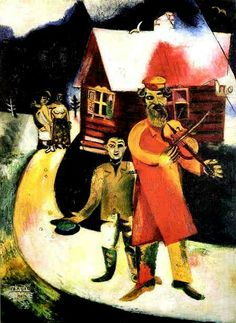 MARC CHAGALL - The Violinist, 1911