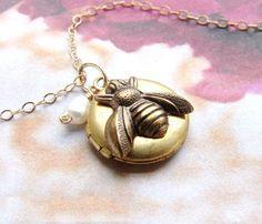 Bee Locket